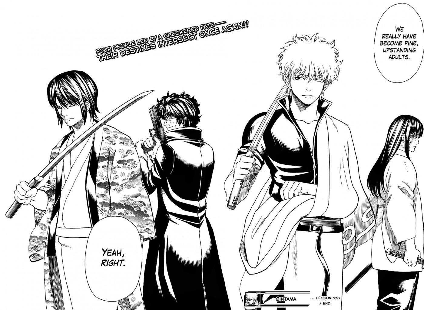 Gintama Chapter, 574 image 018