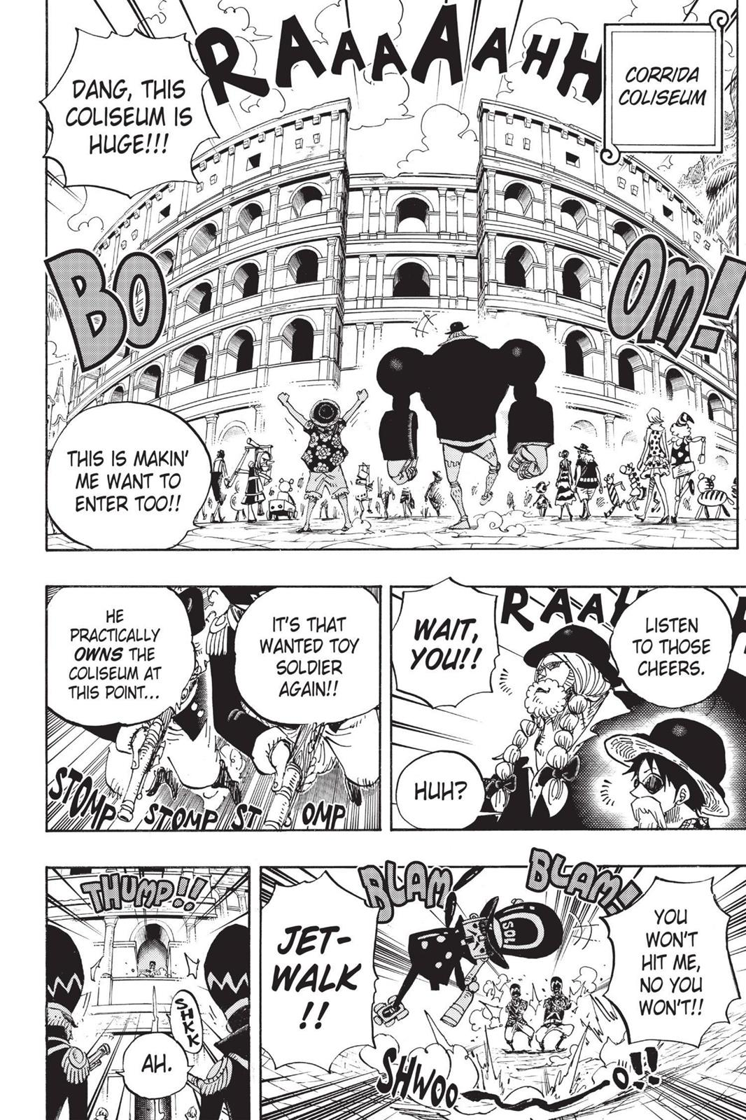 One Piece, Chapter 703 image 013