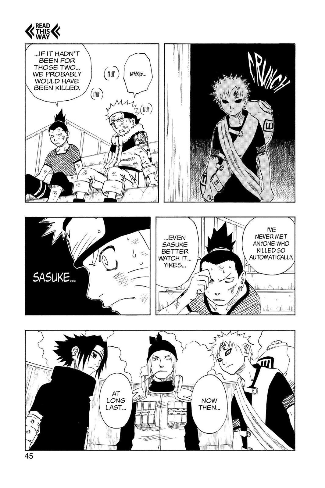 Naruto, Chapter 110 image 019