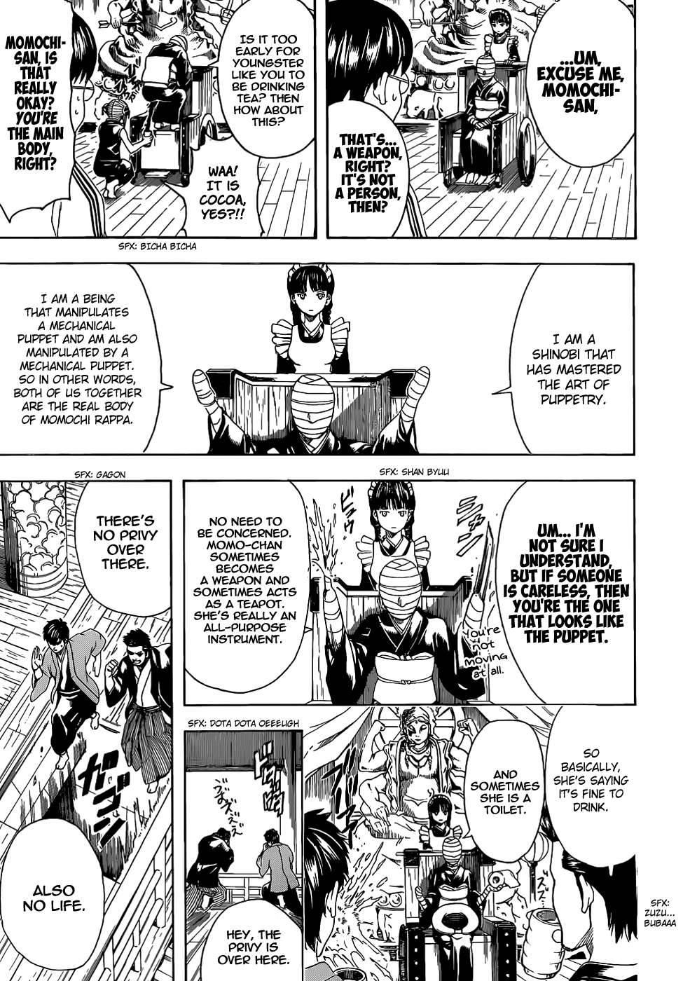 Gintama Chapter, 507 image 013