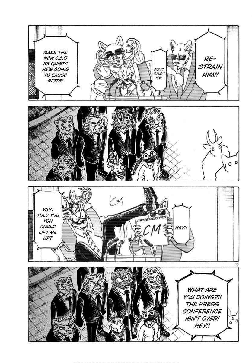 Beastars Manga, Chapter 185 image 013