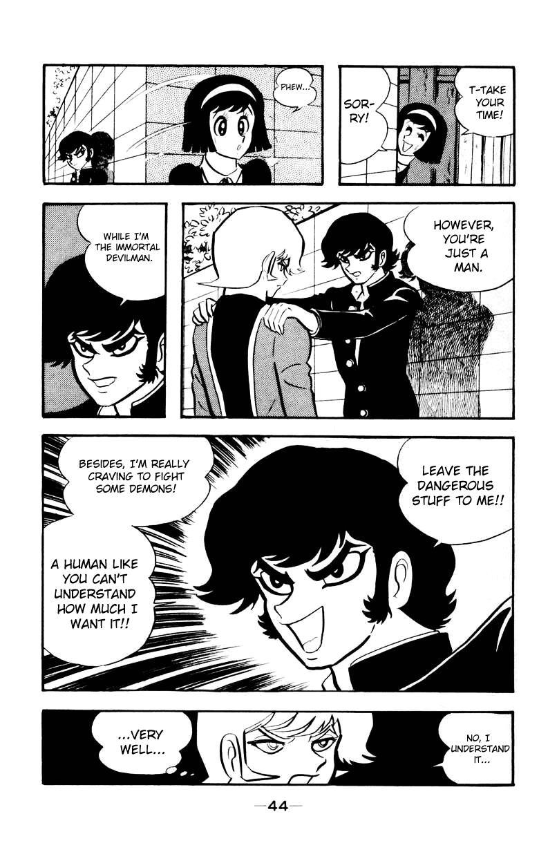 Devilman, Chapter 3 image 041