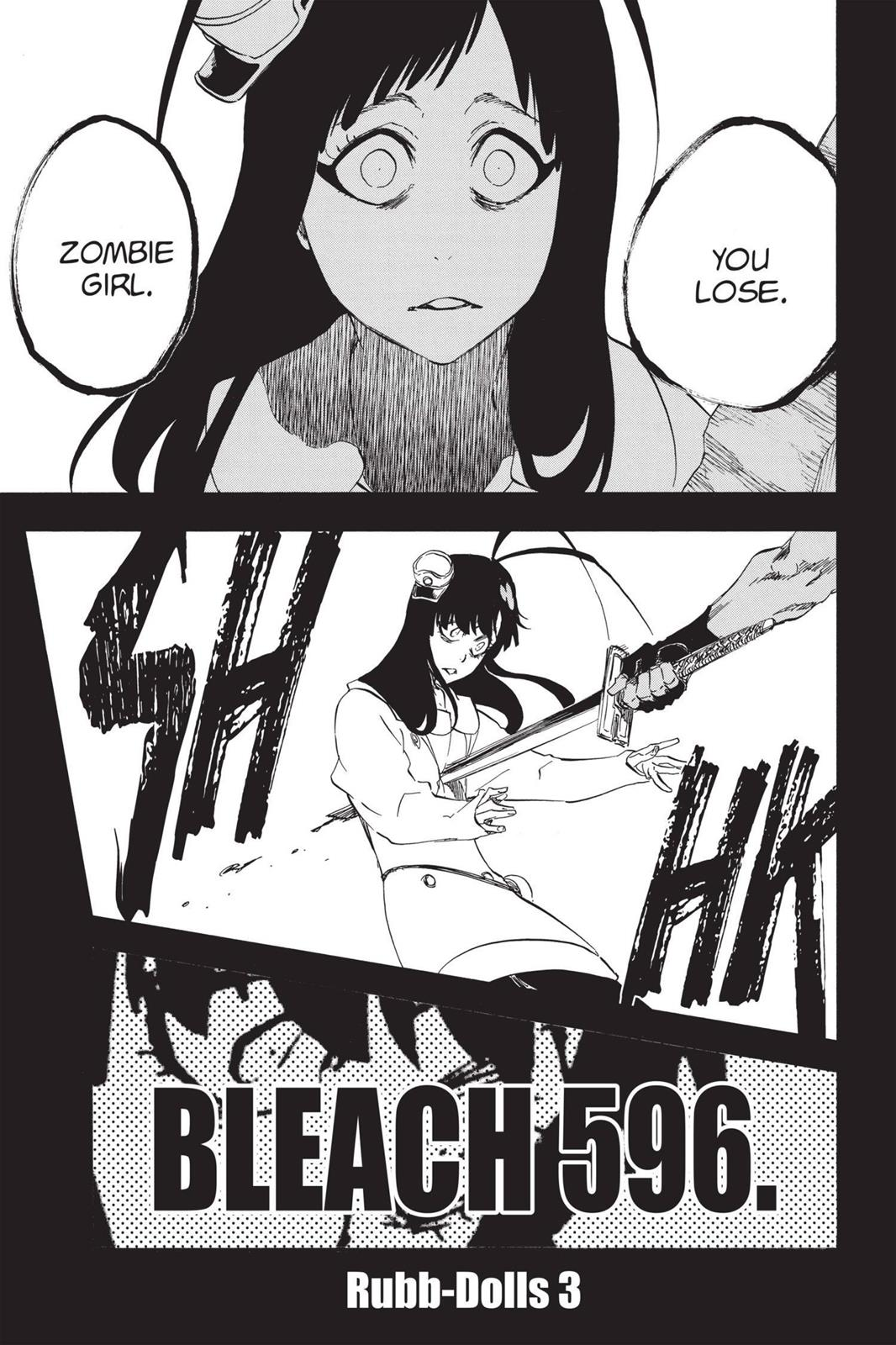 Bleach, Chapter 596 image 011