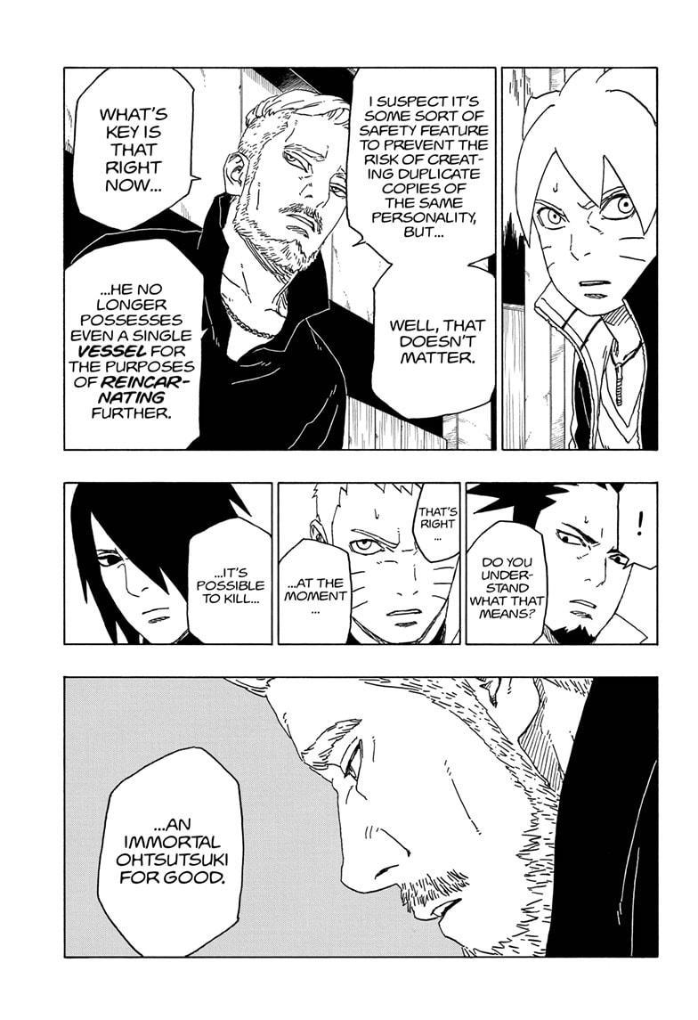 Boruto Manga, Chapter 47 image 031
