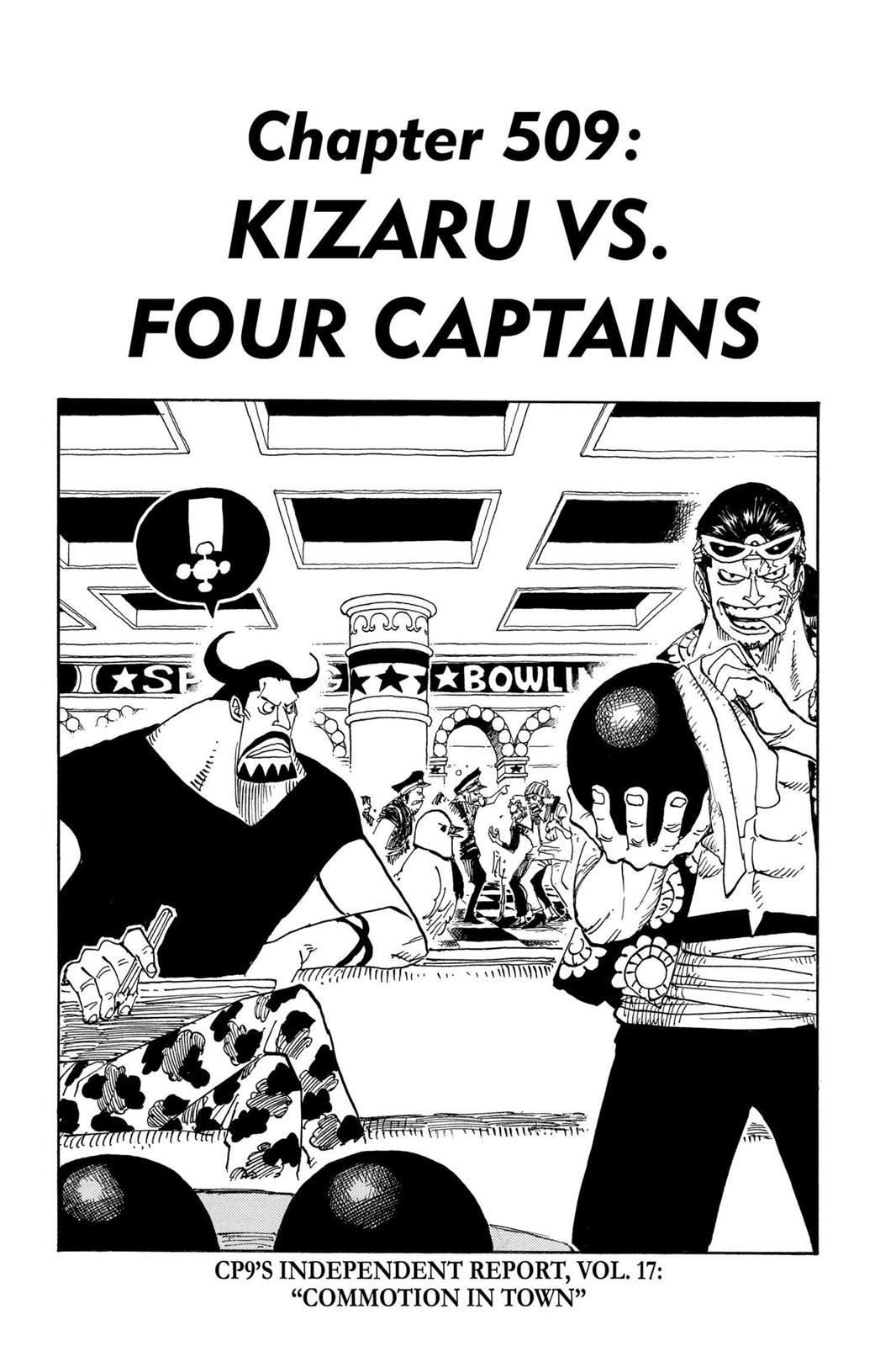 One Piece, Chapter 509 image 001