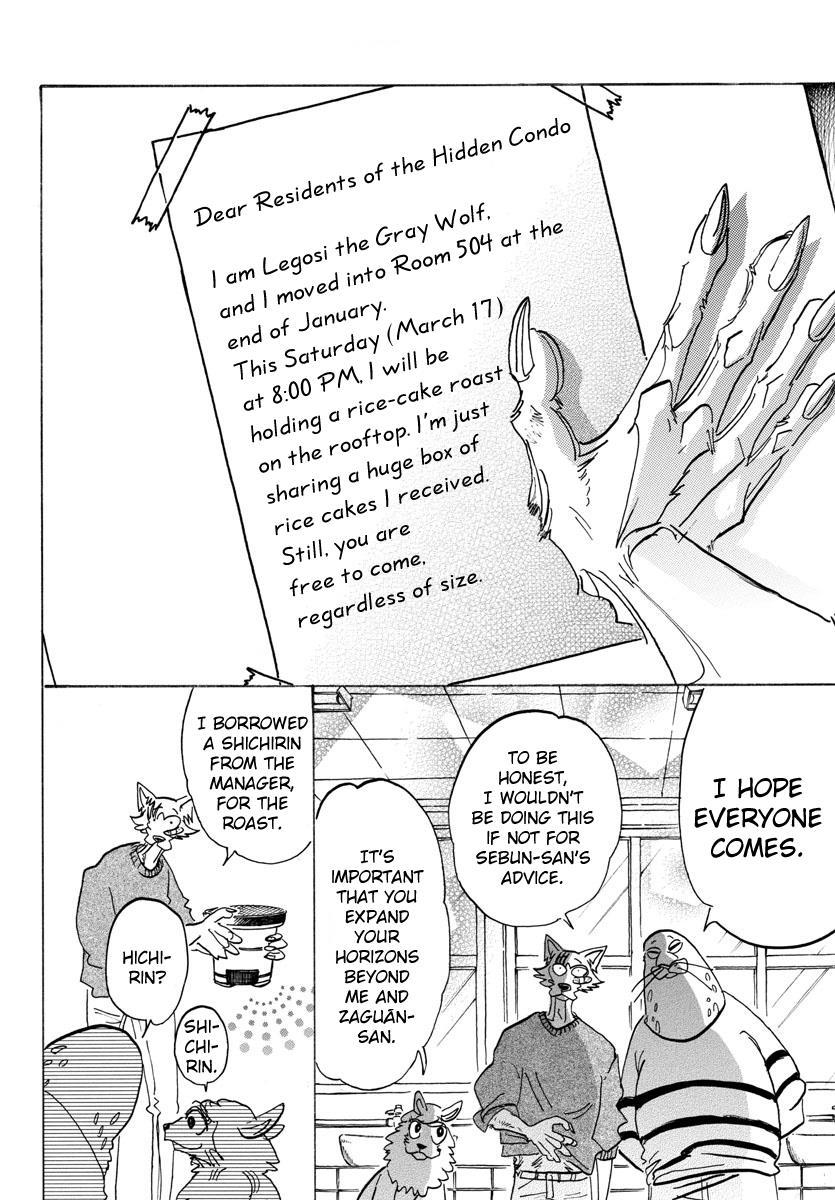 Beastars Manga, Chapter 115 image 007