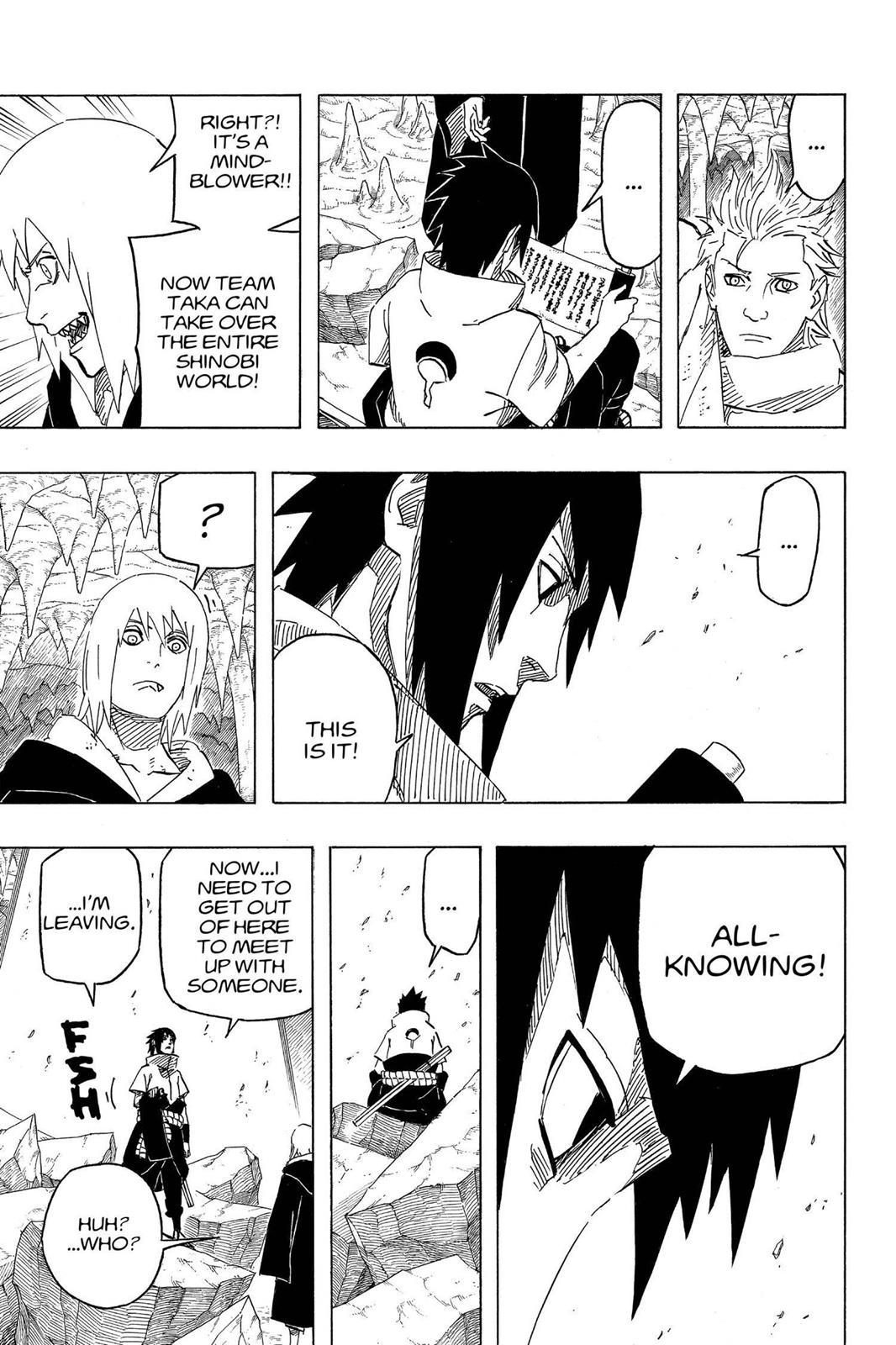 Naruto, Chapter 592 image 013
