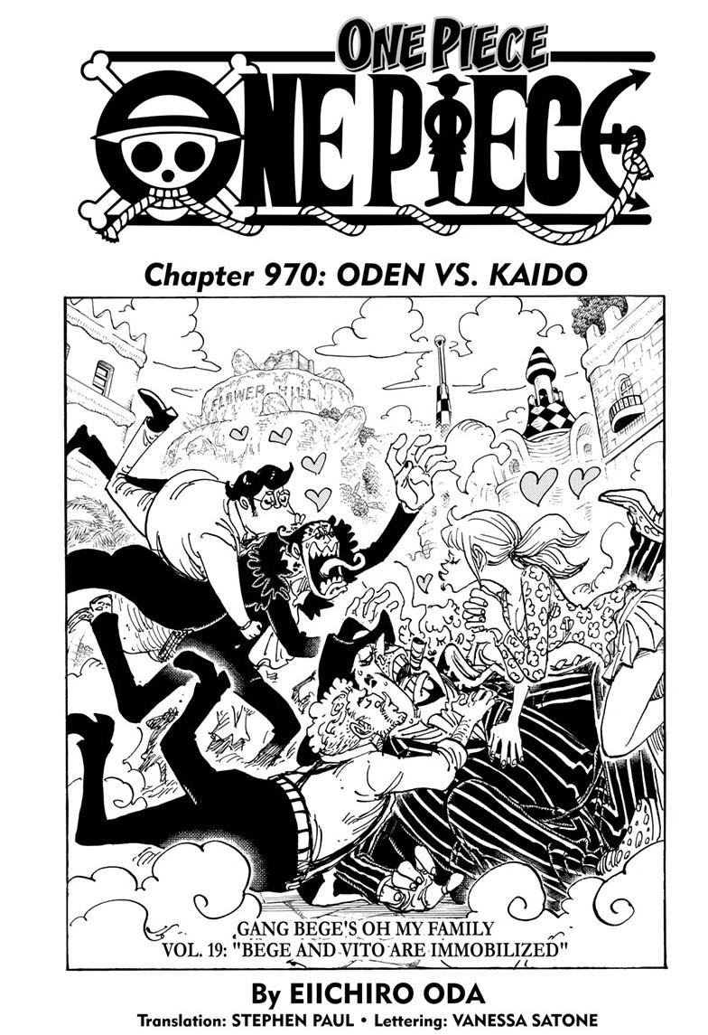 One Piece, Chapter 970 image 001
