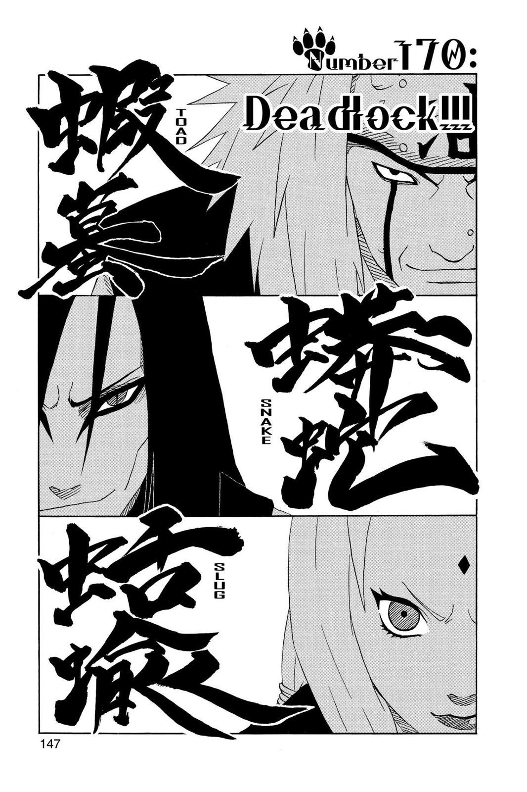 Naruto, Chapter 170 image 001