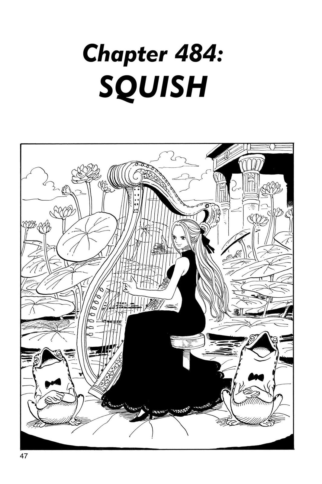 One Piece, Chapter 484 image 001