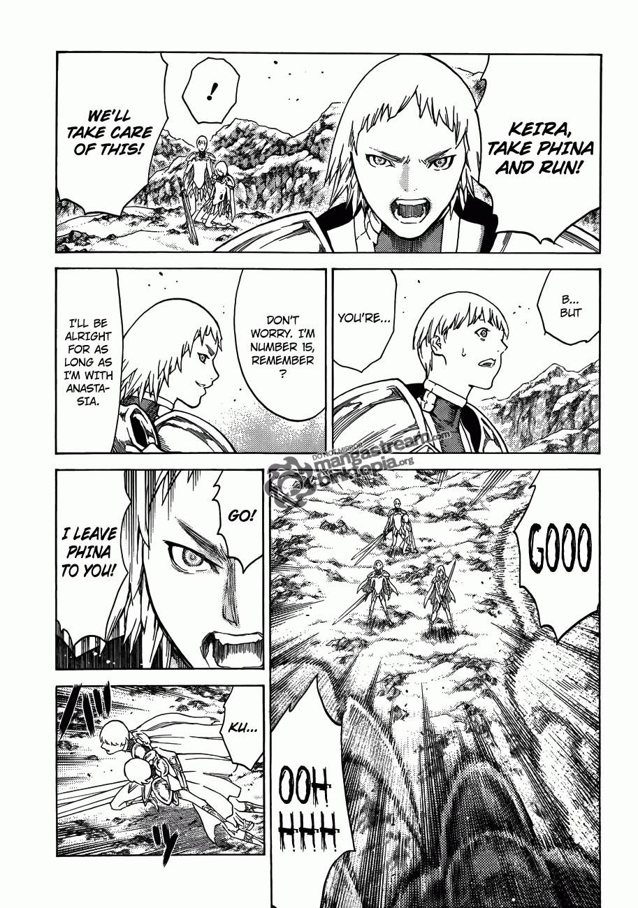 Claymore, Chapter 111 image 016