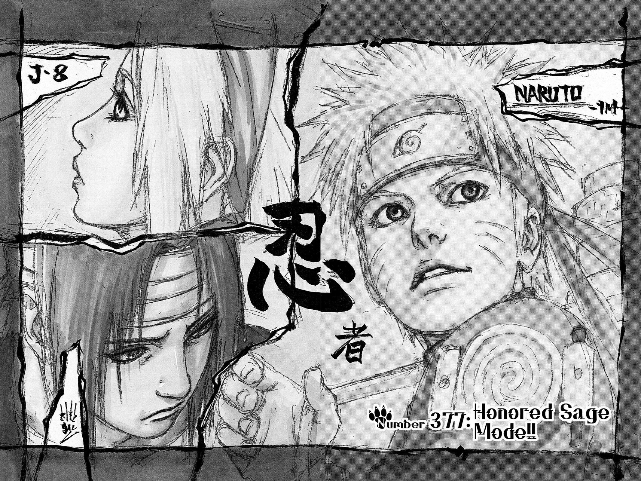 Naruto, Chapter 377 image 002