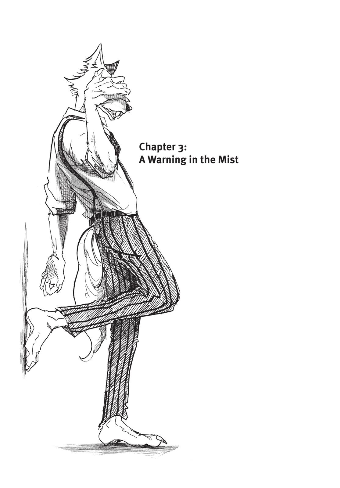 Beastars Manga, Chapter 3 image 001