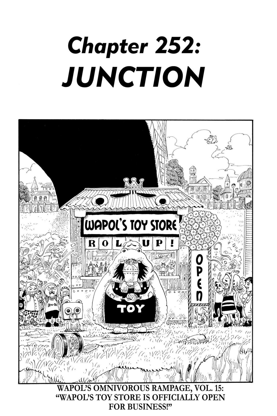 One Piece, Chapter 252 image 001