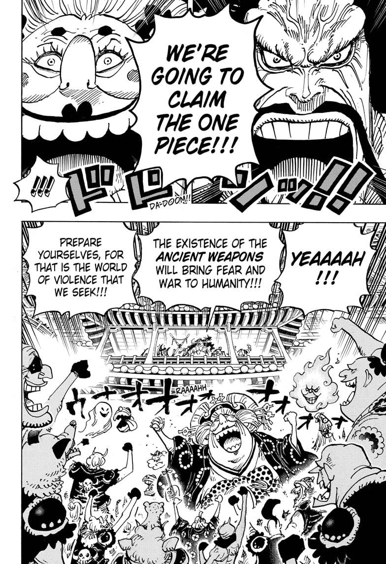One Piece, Chapter 985 image 012