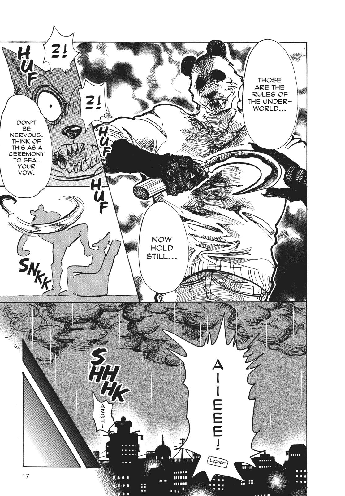 Beastars Manga, Chapter 62 image 016
