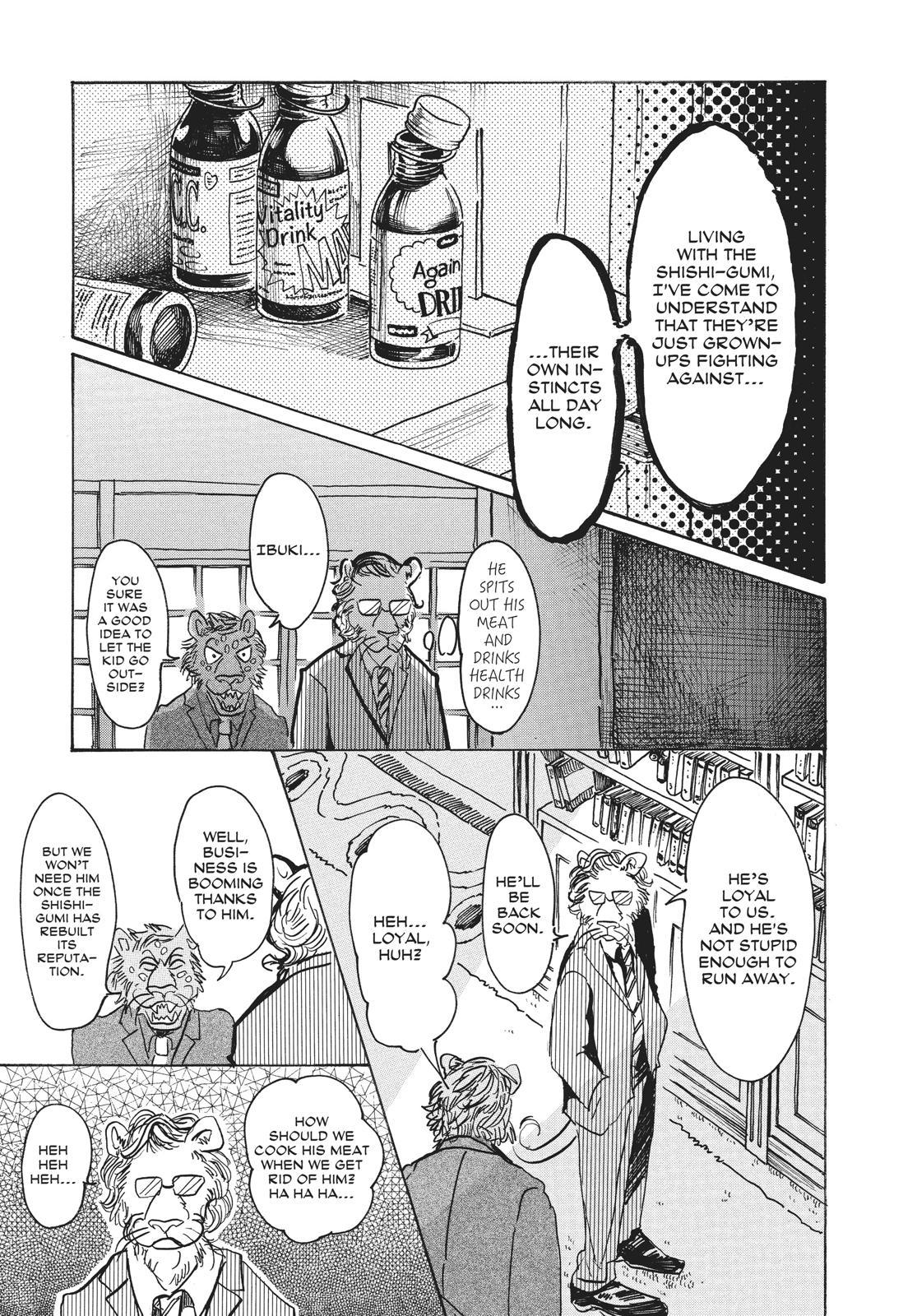 Beastars Manga, Chapter 57 image 012