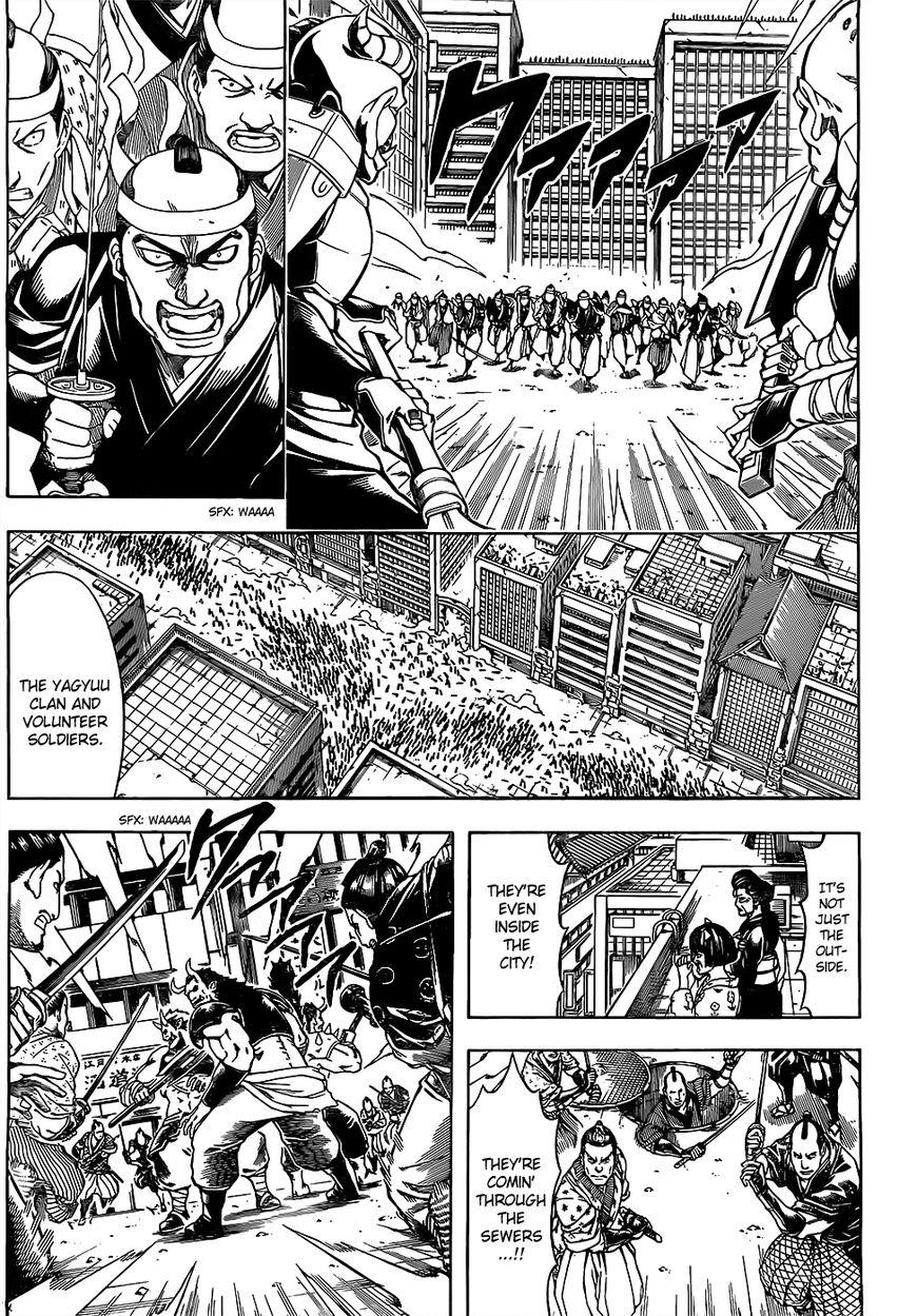 Gintama Chapter, 617 image 010
