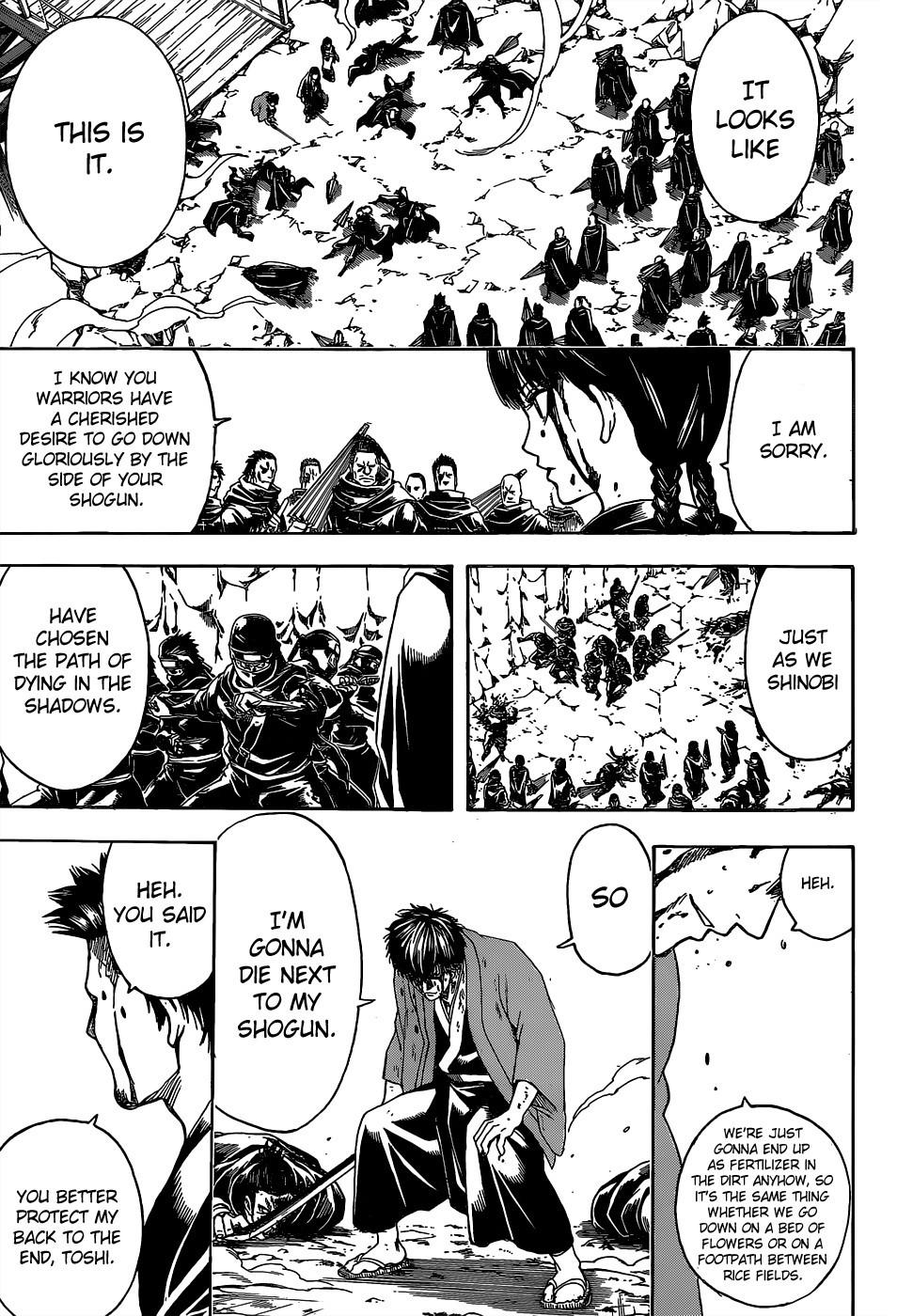 Gintama Chapter, 521 image 011