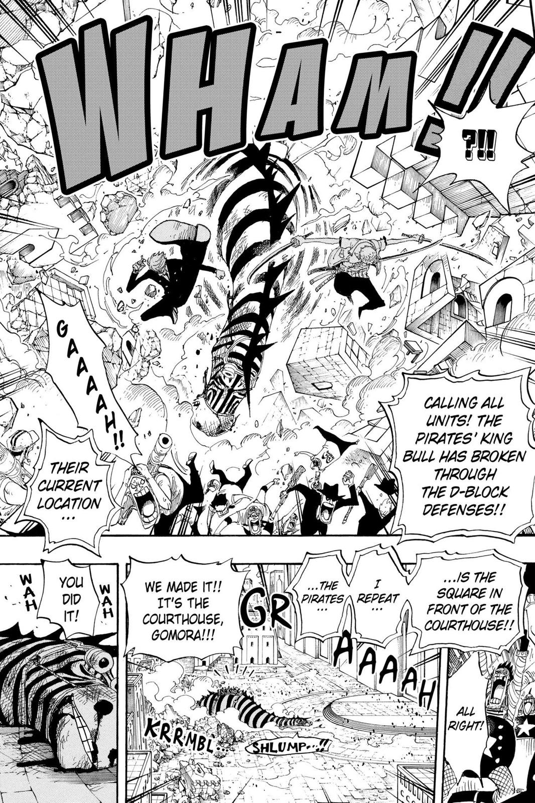 One Piece, Chapter 385 image 019