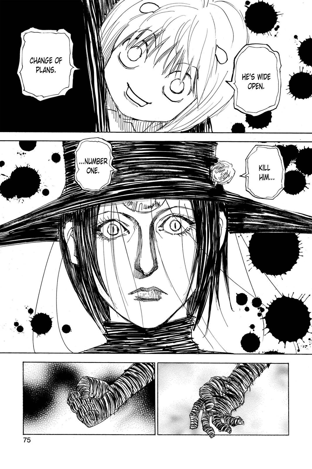 Hunter X Hunter, Chapter 294 image 009