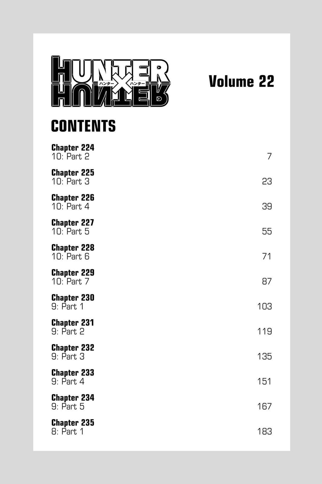 Hunter X Hunter, Chapter 224 image 006