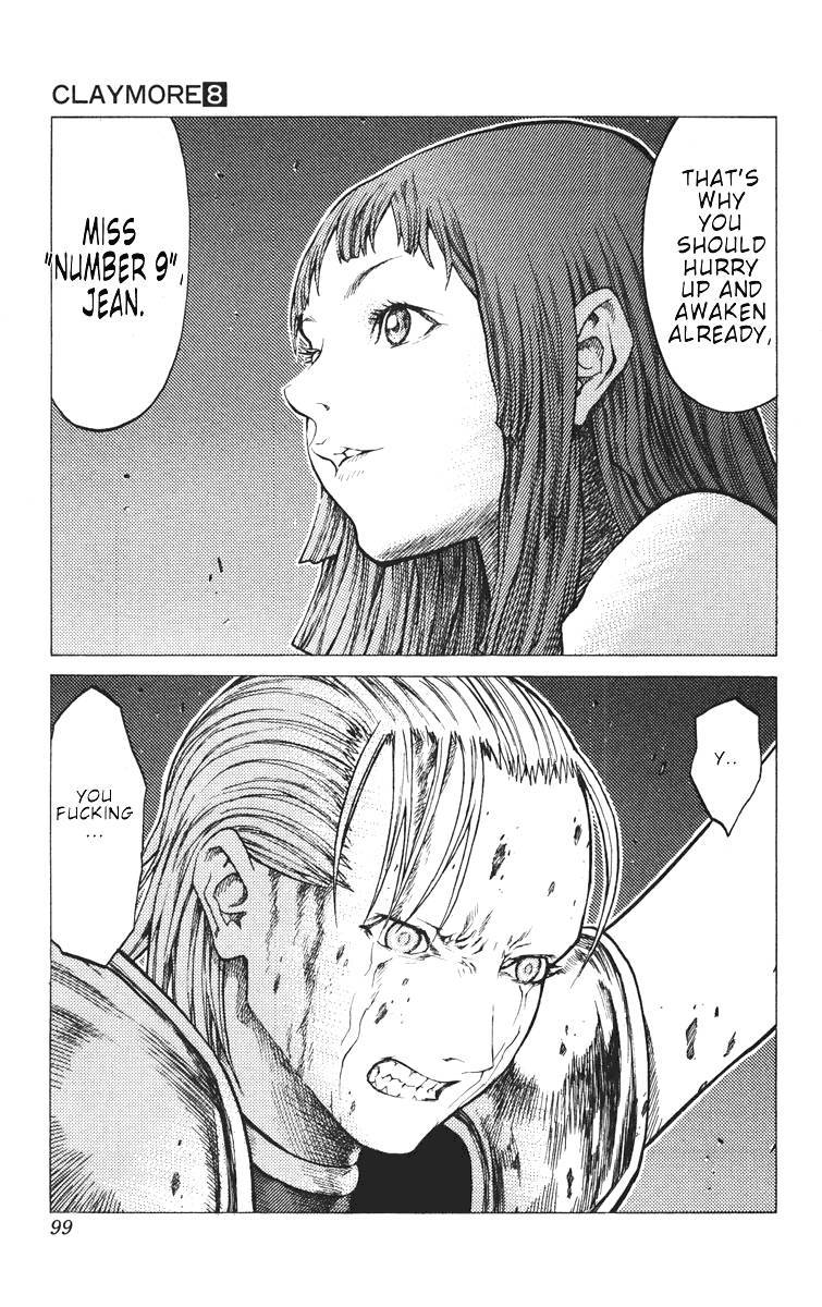 Claymore, Chapter 42 image 027