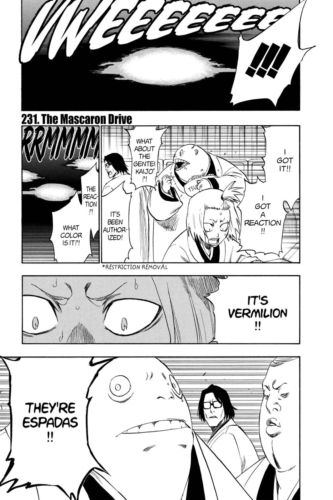 Bleach, Chapter 231 image 001