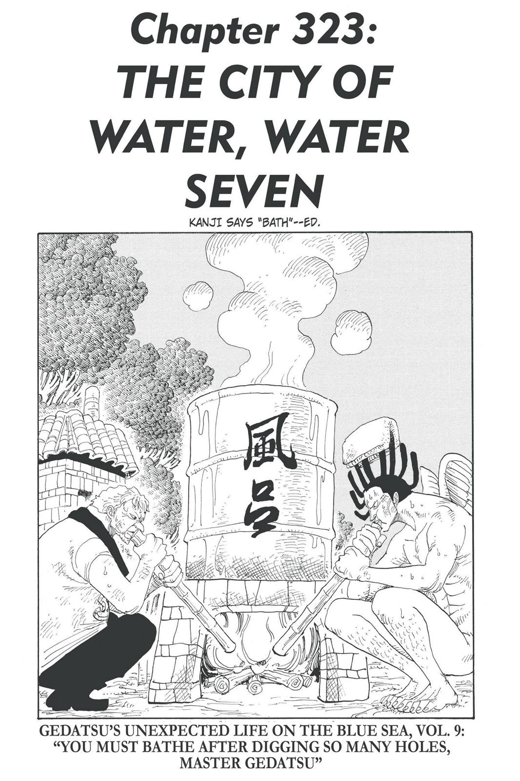 One Piece, Chapter 323 image 001