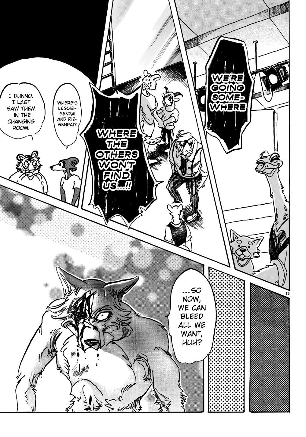 Beastars Manga, Chapter 84 image 014