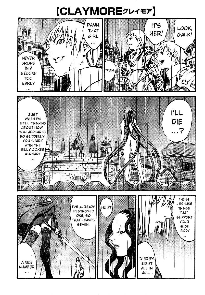 Claymore, Chapter 78 image 002