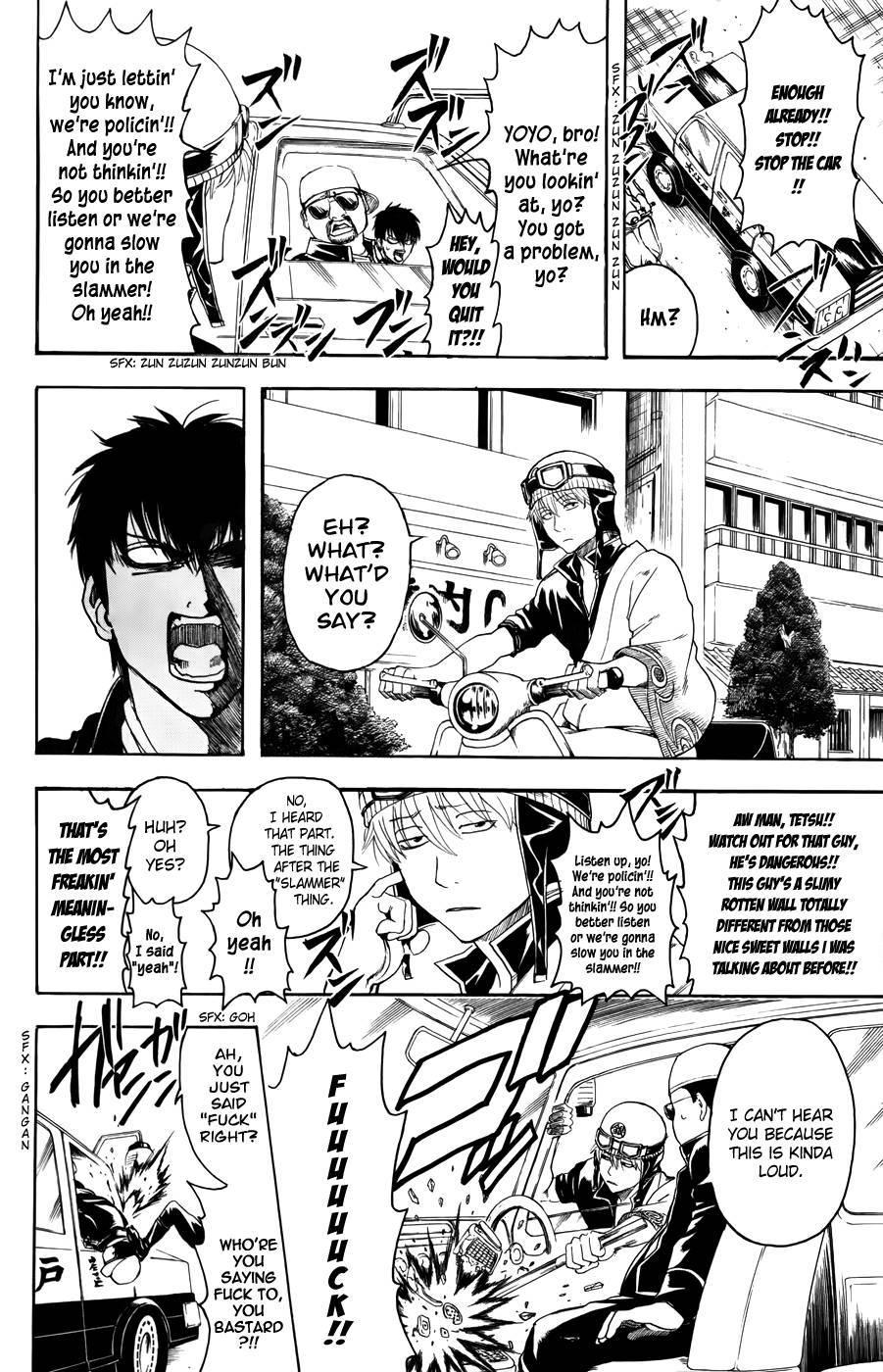 Gintama Chapter, 365 image 012