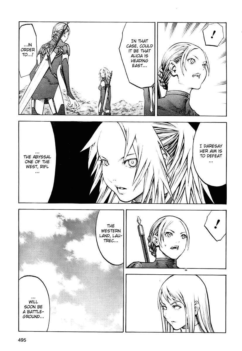 Claymore, Chapter 90 image 013