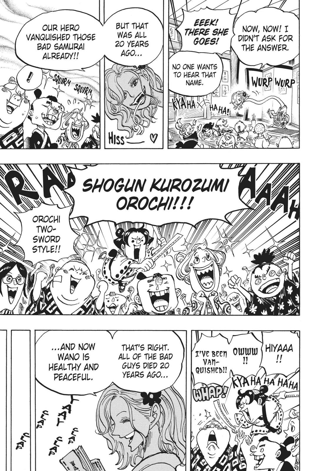 One Piece, Chapter 919 image 007