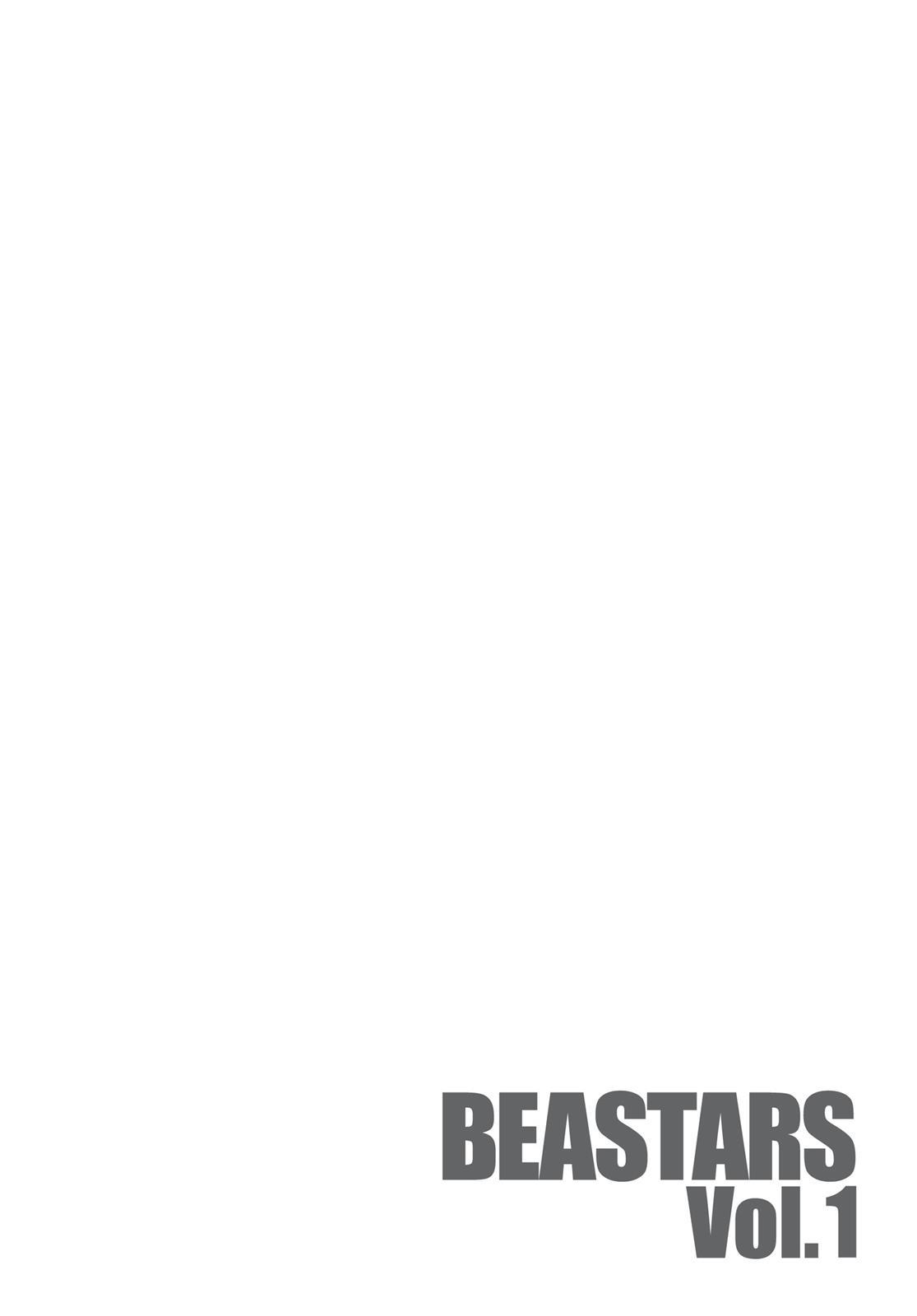 Beastars Manga, Chapter 6 image 002