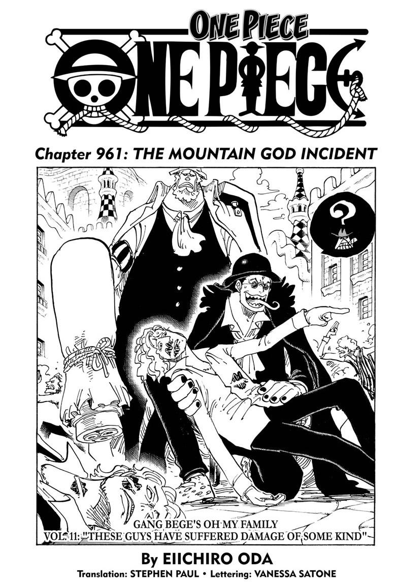 One Piece, Chapter 961 image 001