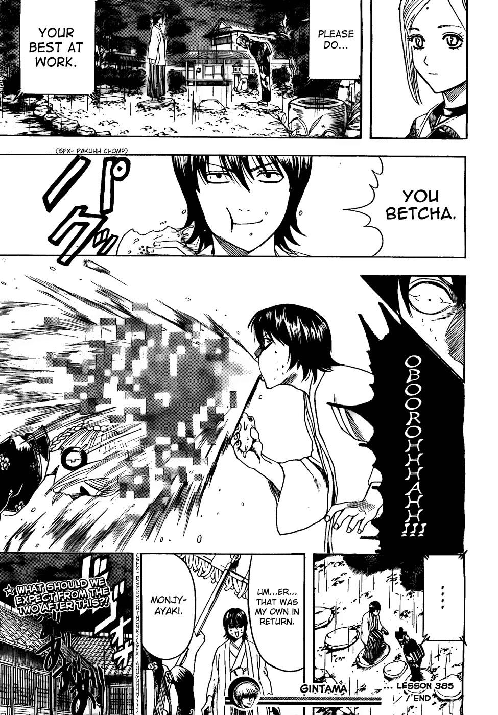 Gintama Chapter, 385 image 019