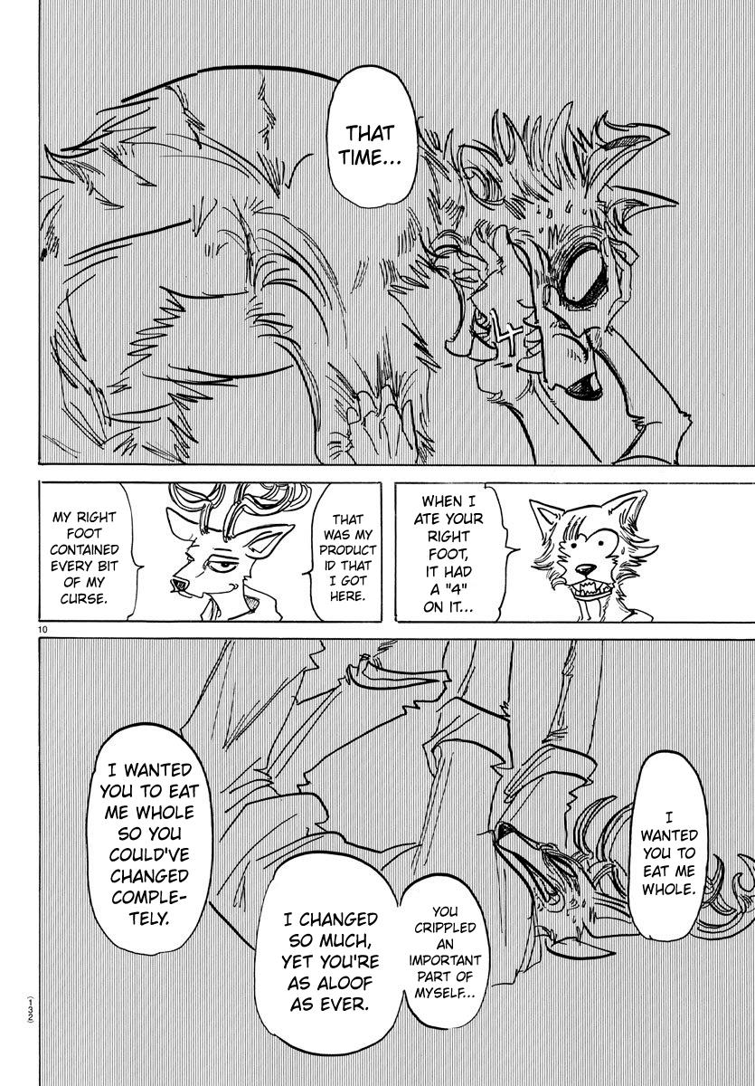 Beastars Manga, Chapter 158 image 011