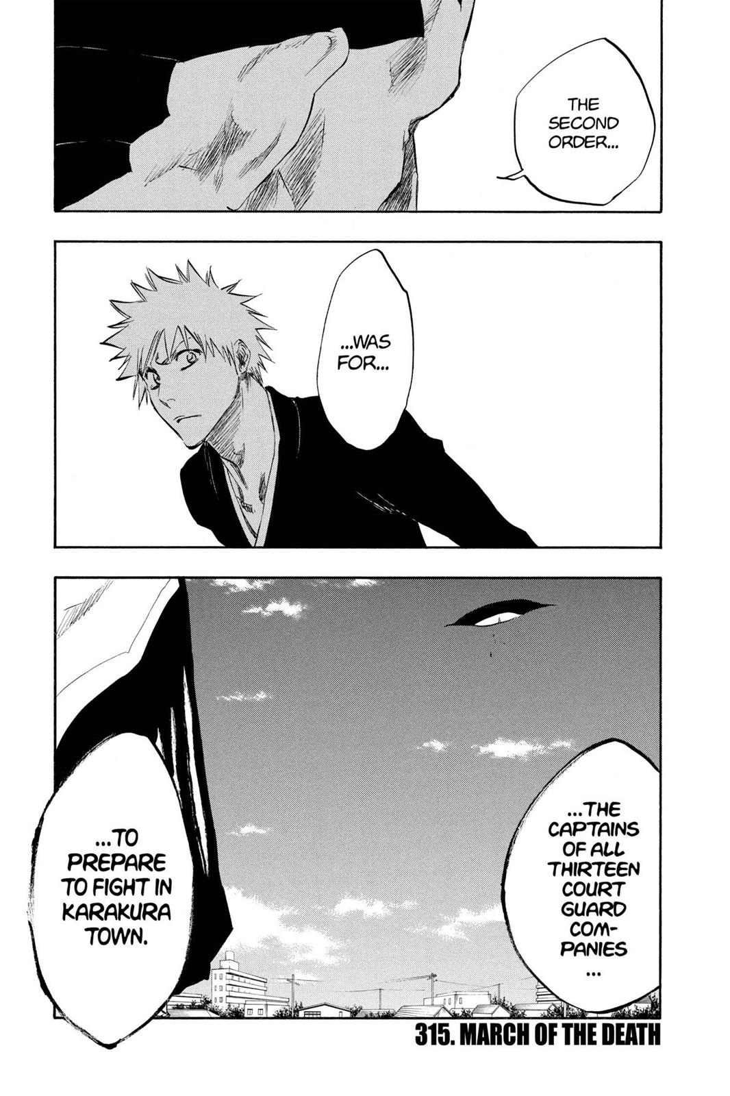 Bleach, Chapter 315 image 001
