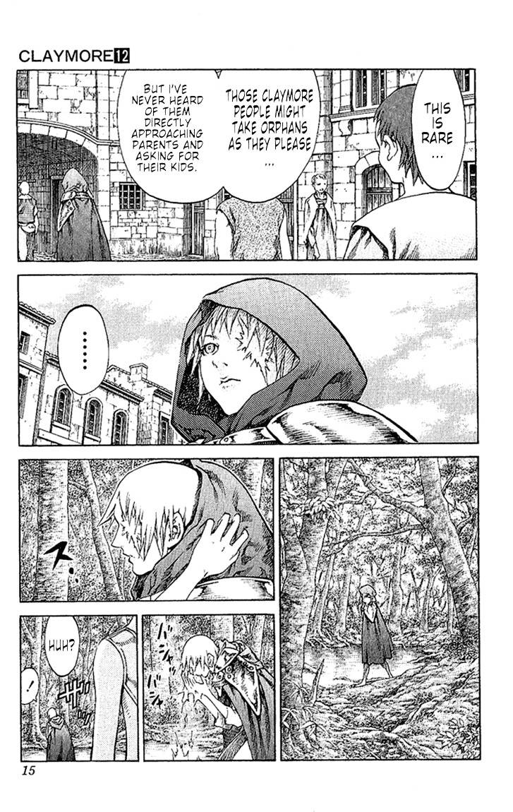 Claymore, Chapter 64 image 016
