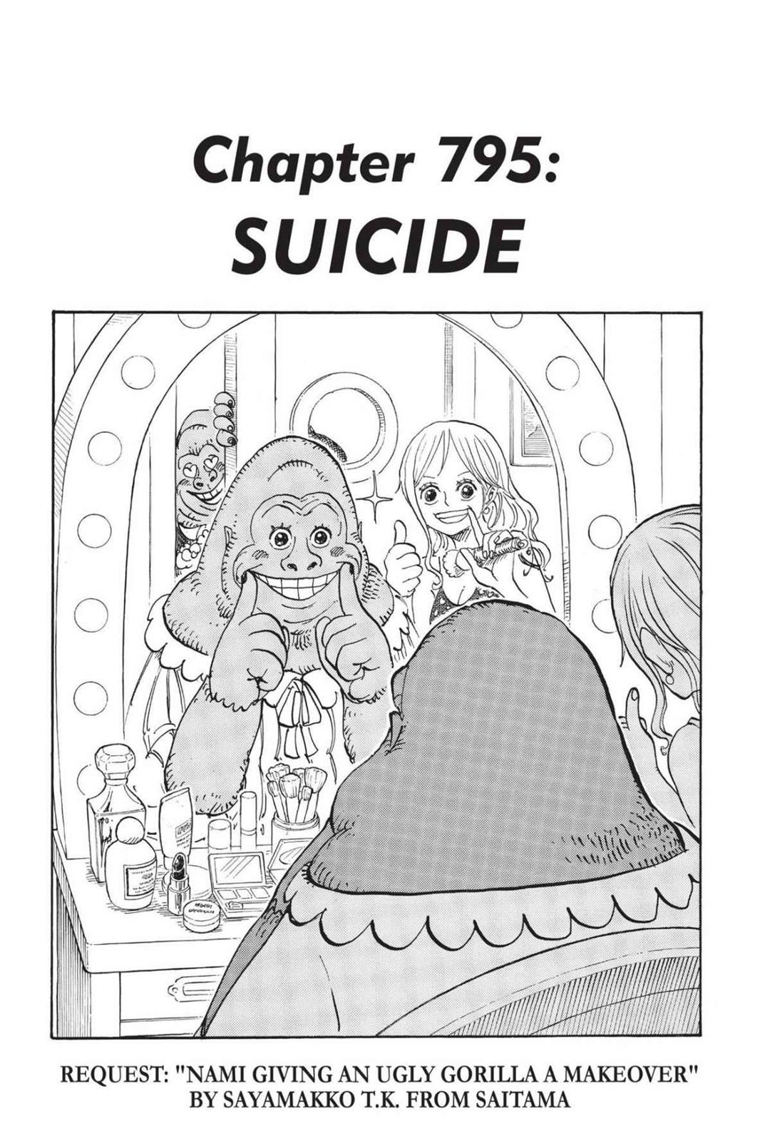 One Piece, Chapter 795 image 001