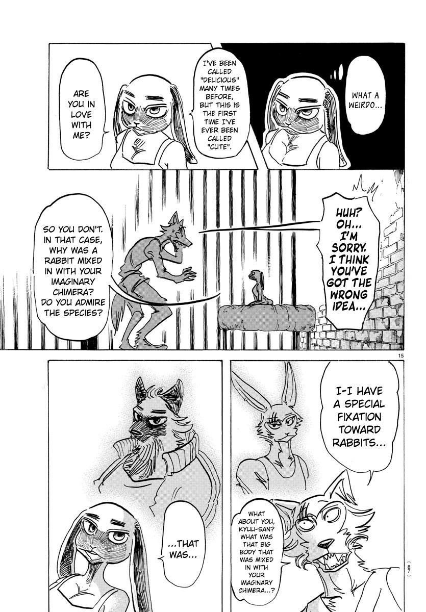 Beastars Manga, Chapter 161 image 015