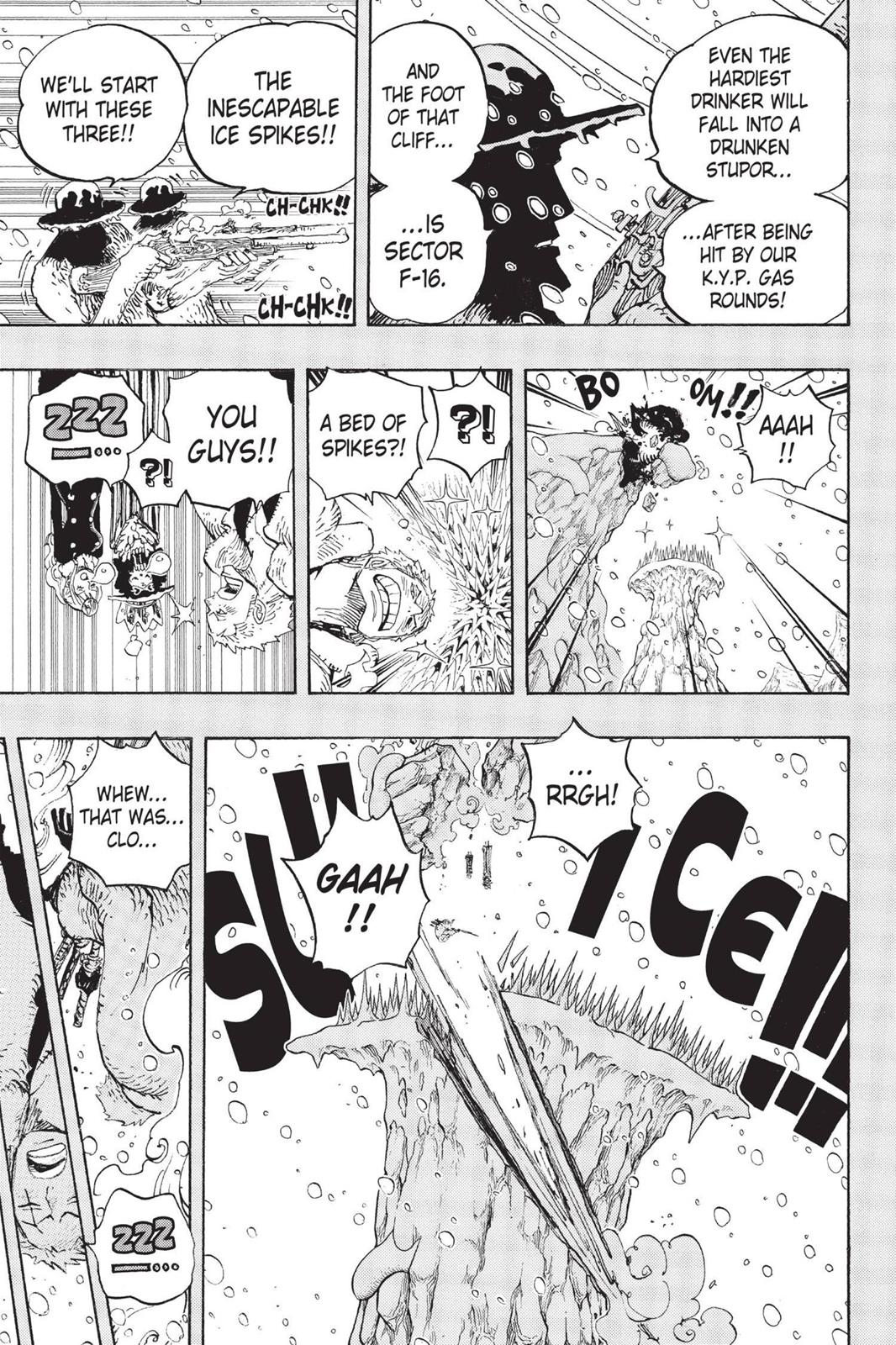 One Piece, Chapter 669 image 005