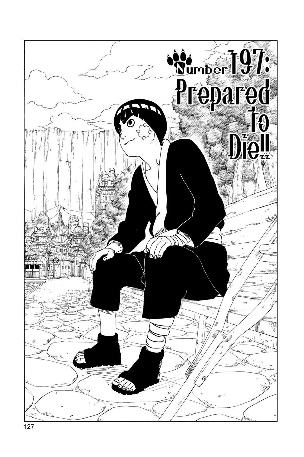 Naruto, Chapter 197 image 001