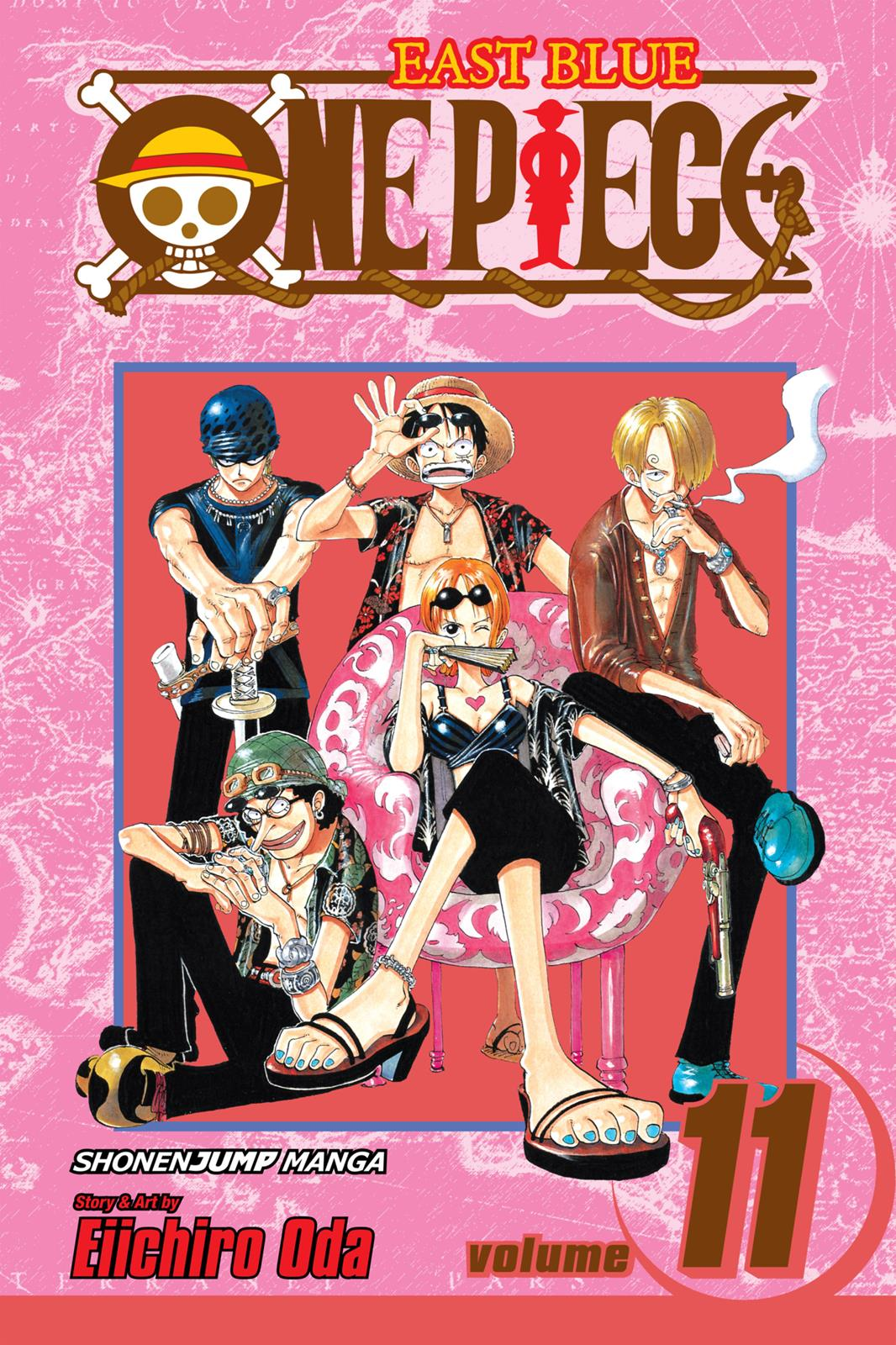 One Piece, Chapter 91 image 001