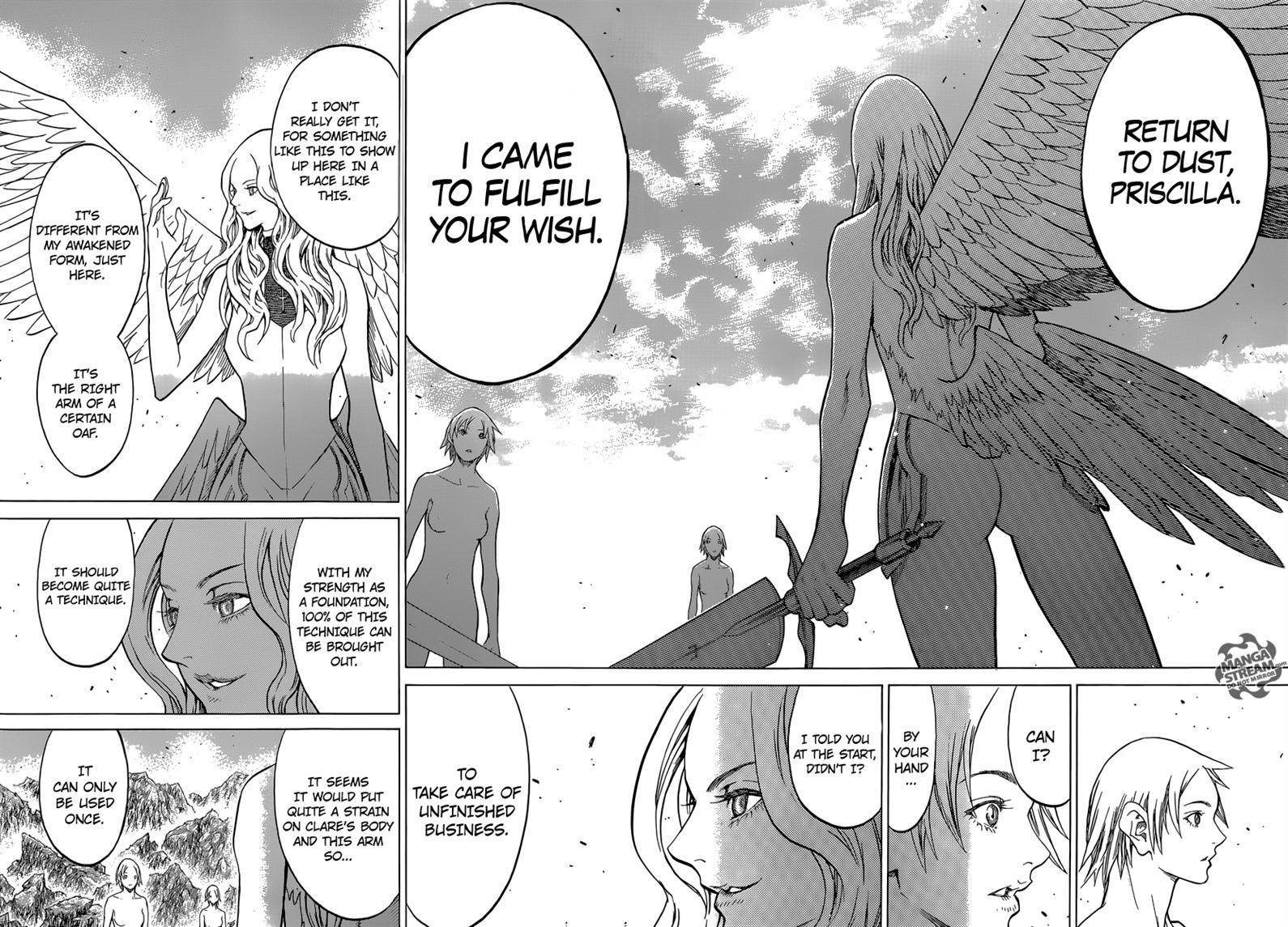 Claymore, Chapter 154 image 016
