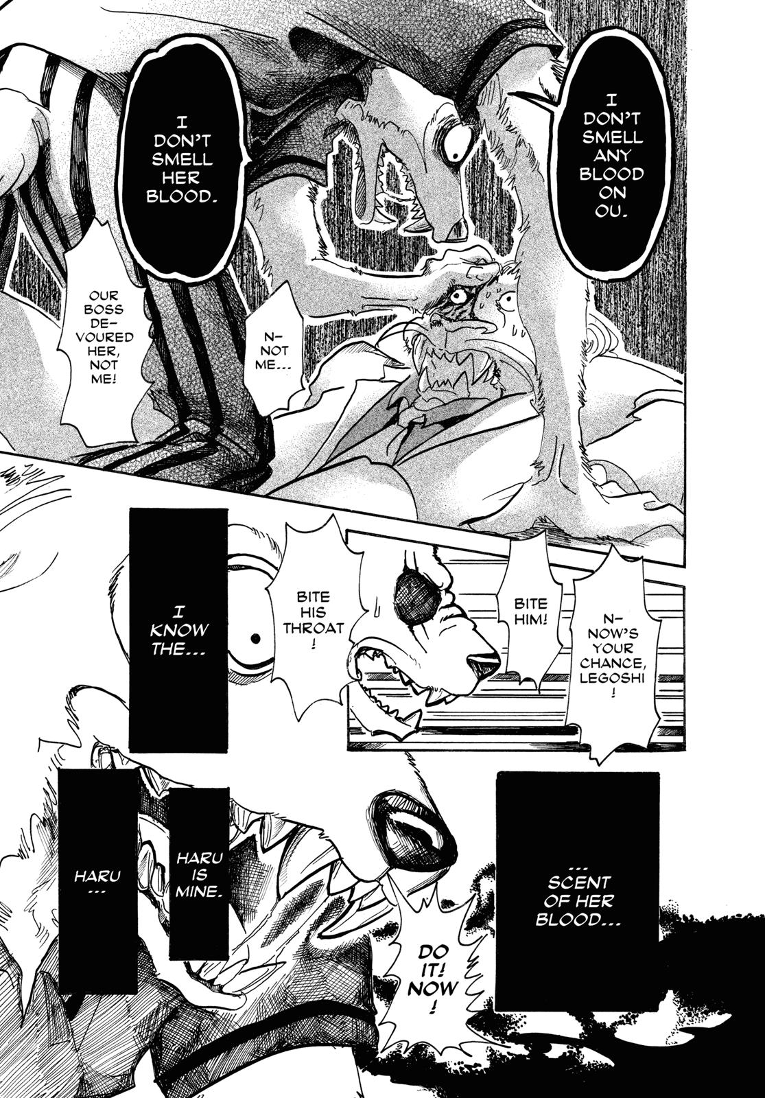 Beastars Manga, Chapter 39 image 011