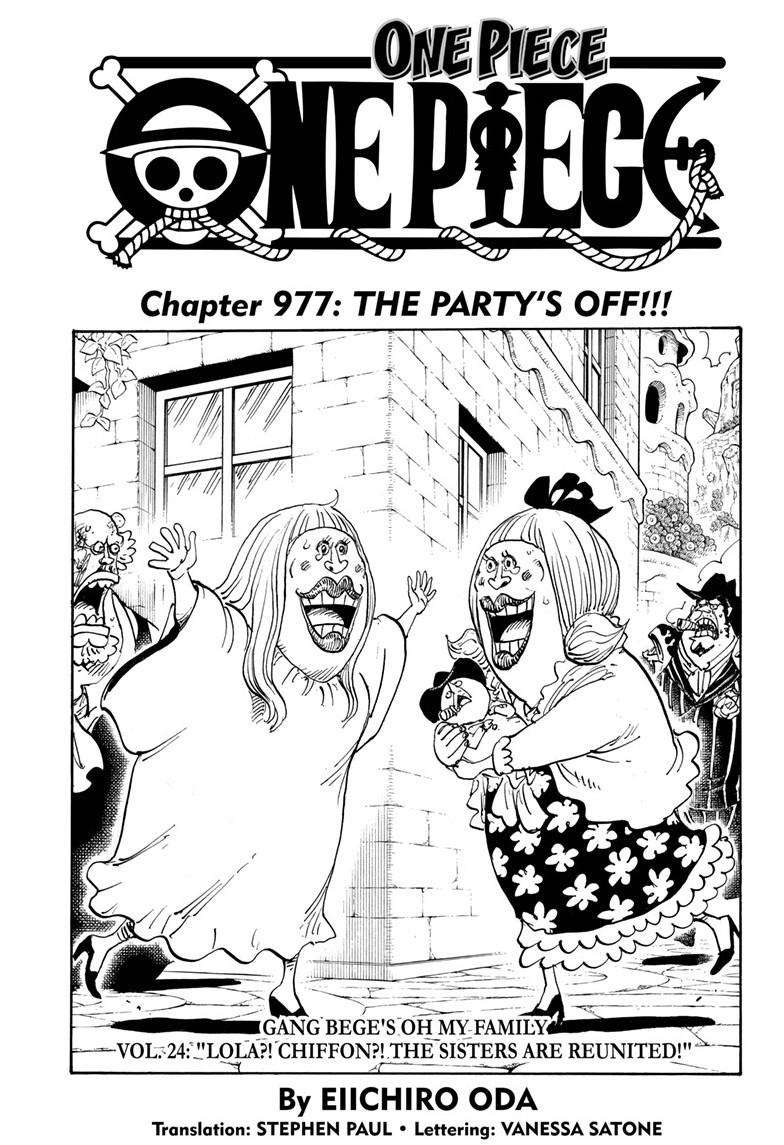 One Piece, Chapter 977 image 001