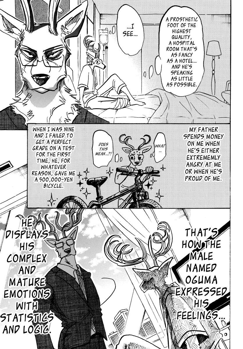 Beastars Manga, Chapter 99 image 003