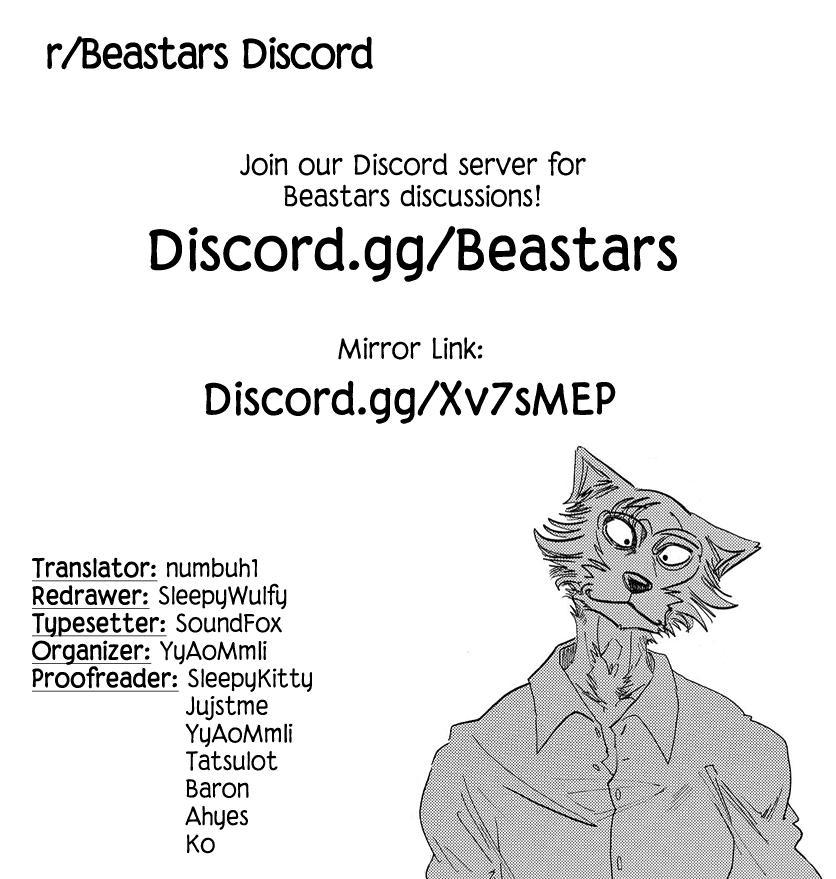 Beastars Manga, Chapter 177 image 019
